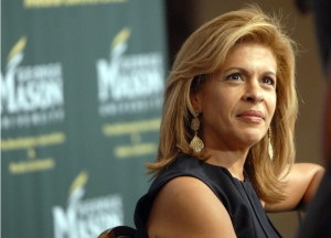 "Hoda Kotb of the ""Today Show"" at the WJMC at George Mason University."