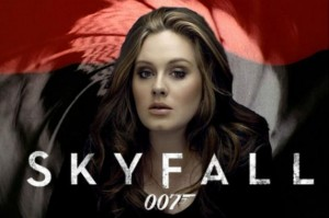Adele in James Bond movie Skyfall.
